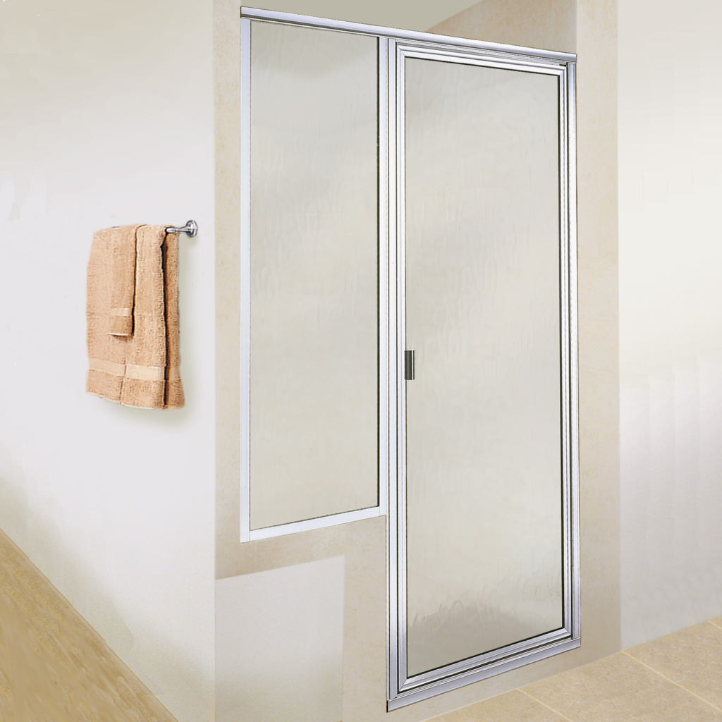 Agalite shower and bath glass enclosure